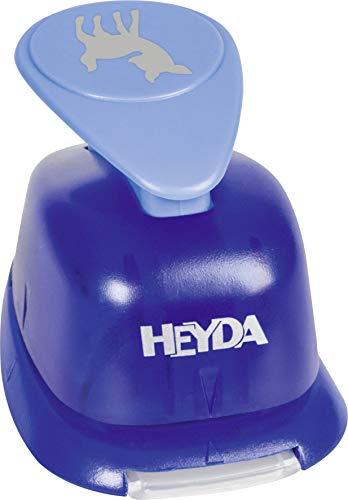 Heyda 203687706 Heyda 203687706 Motivstanzer, groß Motivgröße: ca. 2,5 cm, Motiv: Bambi
