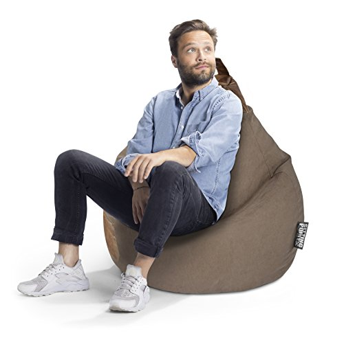 SITTING POINT only by MAGMA Sitzsack Jamie XL ca. 220 Liter braun
