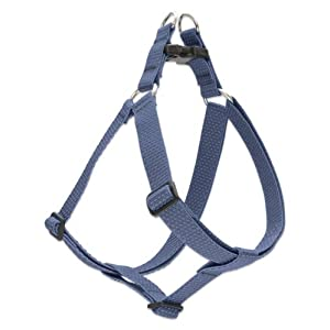 LupinePet Eco 1″ Mountain Lake 19-28″ Step In Harness for Medium Dogs