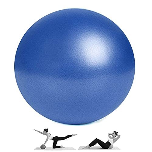 Mini Exercise Balls - Professional Grade Anti Burst Heavy Duty and Slip Resistant Small Pilates Ball for Yoga Fitness Stability Barre Balance Training Physical Therapy, 9 Inch