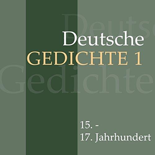 Deutsche Gedichte 1 - 15. - 17. Jahrhundert Titelbild