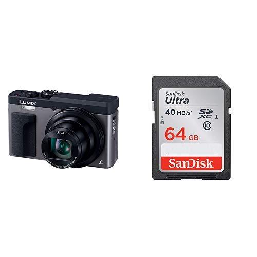 パナソニック『コンパクトデジタルカメラ LUMIX(TZ90)』64GB SDカードセット