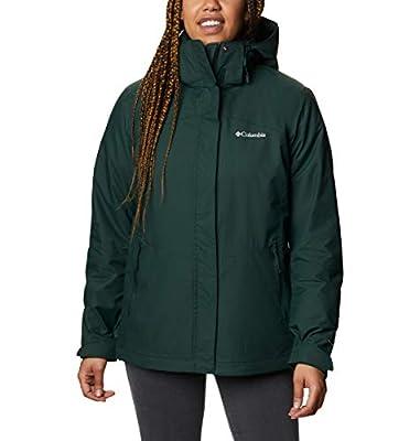 Columbia Women's Bugaboo II Fleece Interchange Jacket, Spruce, Large