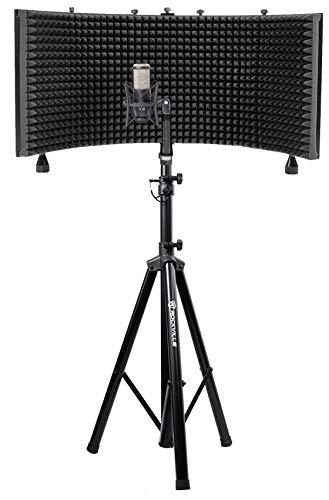 AKG P420 Studio Condenser Recording Podcasting Microphone+Foam Shield+Tripod