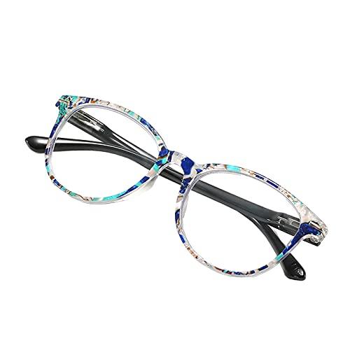 NC Gafas de lectura de bloqueo de luz azul gafas de protección UV para mujeres y hombres - 100 grados