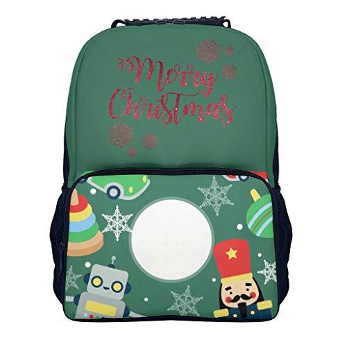 Lind88 Kleuterschool Kinderen Kleine Leuke Rugzak Kerstcadeaus Personaliseren Lichtgewicht Boek Tassen - Aangepaste Bedrukte Bedrukking voor Reizen Camping