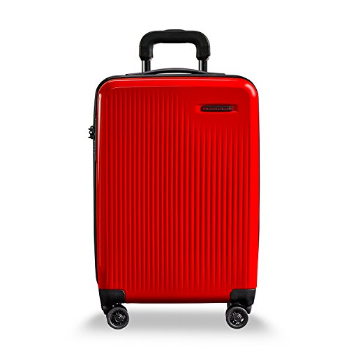 Briggs & Riley Sympatico-Hardside CX Expandable Carry-on Spinner Luggage, Fire