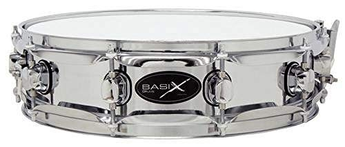 Basix Pure F801113 Classic Rullante, Acciaio, Snare Drum, 14 X 3,5 Pollici