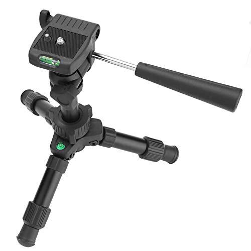 FOLOSAFENAR Travel Tripod Double Levels Adjustable Mini Tripod,for Compact Camera Camera Stand Holder
