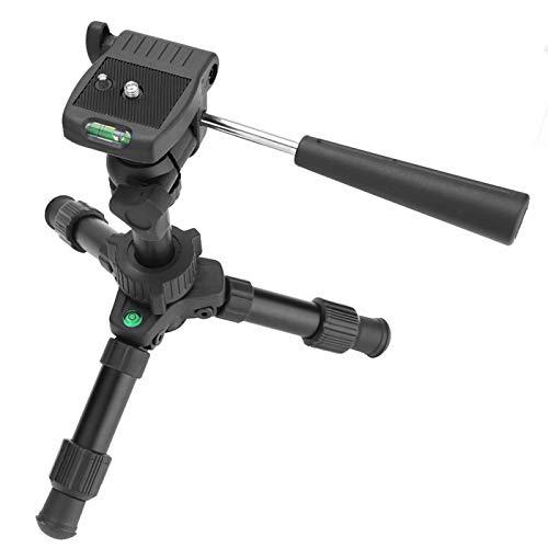 FOLOSAFENAR Trípode de Viaje de Niveles Dobles Mini trípode Ajustable, para cámara compacta