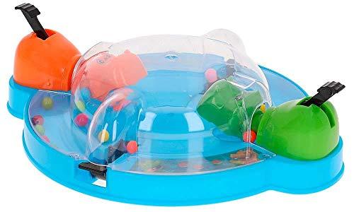 ML Juego de Mesa. hipopótamo saca muela - Bolas de hipopotamos tragabolas Juguete para niños