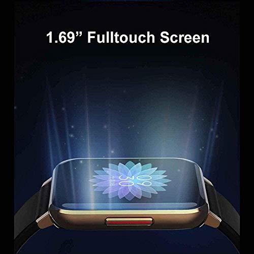 Smart Watch Fitness Tracker 1.28 pulgadas Color Display Soporte Llamada Frecuencia Cardíaca SMS Recordatorio IP67 Impermeable-1