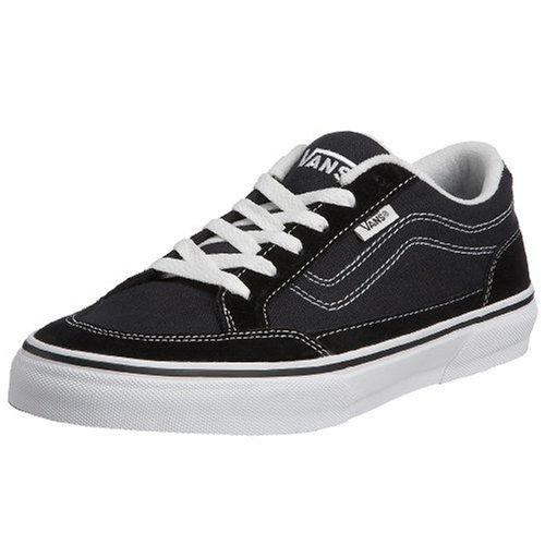 VANS Men BEARCAT Sneakers Skate Shoes (12, Black/white)