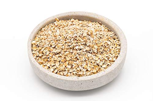 Fiocchi di grano saraceno bio – 6 x 330g – senza OGM e senza glutine – Crudo – grano saraceno austriaco
