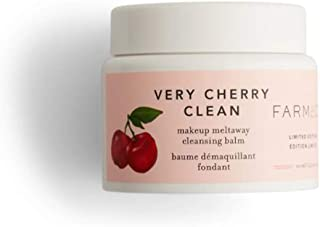 Farmacy Very Cherry Clean Makeup Remover 3.4 Oz! Makeup Meltaway Cleansing Balm With Acerola Cherry! Gently Removes Stubborn Makeup And Impurities! Nourishing Makeup Remover & Cleanser!