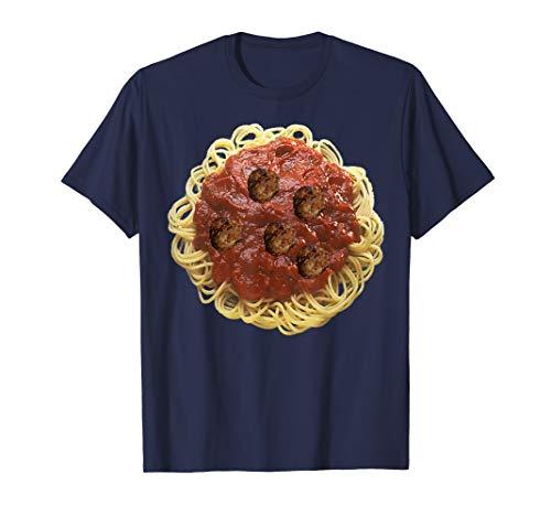 Spaghetti and Meatballs Costume T-Shirt pasta Italian Food