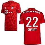 adidas FCB FC Bayern München Trikot Home Heimtrikot 2019 2020 Kinder Gnabry 22 Gr 164