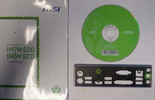 MSI B85M ECO - Handbuch - Blende - Treiber CD #307852