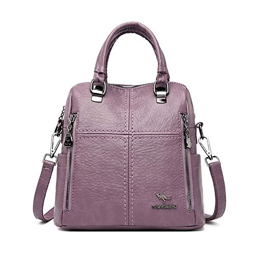 Fashionable and durable backpack laptop bag Leather Luxury Handbags Women Bags Designer Multifunction Shoulder Bags For
