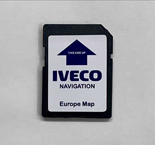 Tarjeta SD de navegación GPS para IVECO XP Daily Stralis Hi-Way - Map Europe 2020-2021