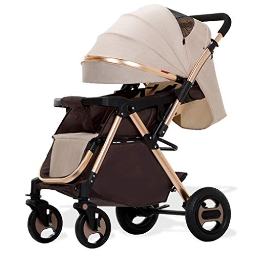 Find Discount Baby Stroller, Baby Stroller, Can Sit and Recline Lightweight Folding Baby Car, 0/1-3 ...