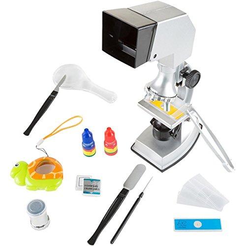 Hey! Play! 18 Piece Educational Microscope Set
