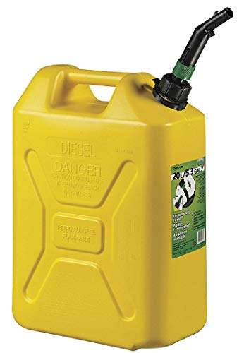 Scepter 5 Gallon Military Style Diesel Container, EPA Compliant Diesel Container (5 gal, Diesel Fuel Can)