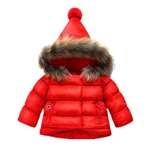 Adelina baby meisjes katoen winterjas elegante donsjas baby kinderen capuchon windbreaker jas modieuze completi dikke coat effen jas outwear