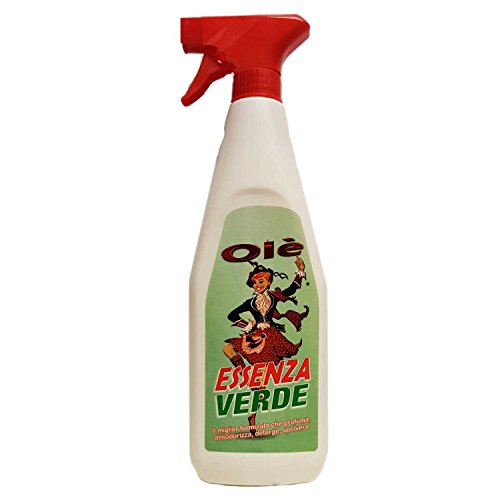 Olé - Essenza Profumata - Spray nettoyant multi-usage - 12 bouteilles de 750 ml vert