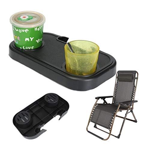 Colorful Getränkehalter, Chair Side Tray, Tragbare klappbare Camping Picknick Outdoor Beach Garden Stuhl Seitenablage für Getränke