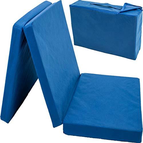 Reisebettmatratze mit Transporttasche (120 x 60 cm) für Kinderbett/Reisebett Matratze Baby Kind