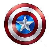 Escudo Capitan America 1: 1 Adulto Apoyos de PelíCula NiñOs CapitáN AméRica Shield CapitáN Disfraz Shield, DecoracióN de Pared de Bar A,47cm