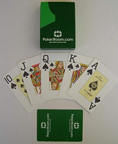 Fournier Poker Karten Großer Index Pokerkarten 100% Plastik 2818 Spielkarten mit Joker