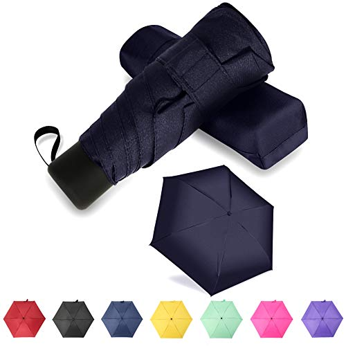 GAOYAING Compact Travel Umbrella Sun&Rain Lightweight Totes Small and Compact...