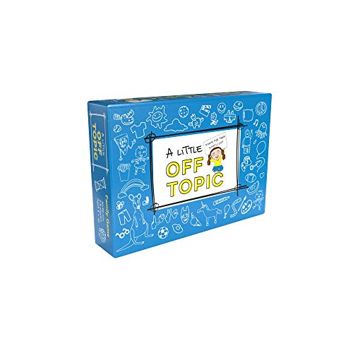 A Little Off Topic Board Game for Kids 8-12 - Fun Card Game for Families Ages 8 and Up