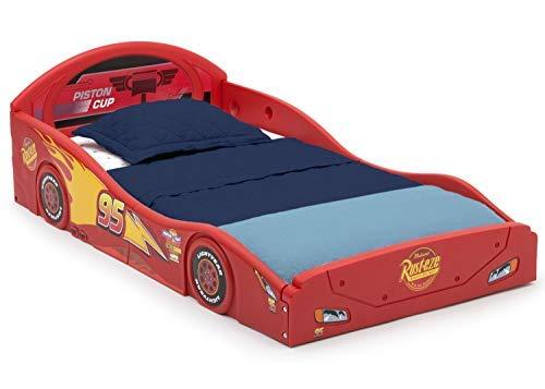 Disney Pixar Cars Lightning McQueen Race Car Bed