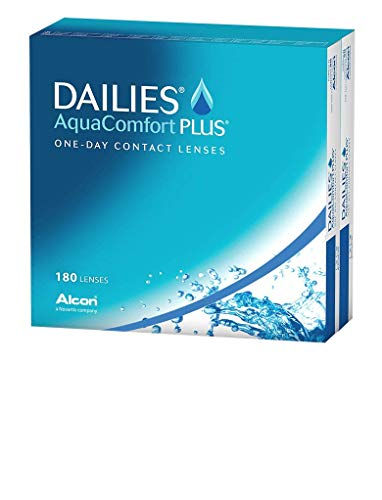Dailies AquaComfort Plus Tageslinsen weich, 180 Stück, BC 8.7 mm, DIA 14.0 mm, -2.5 Dioptrien