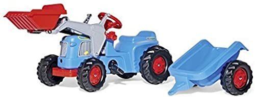 entrega rápida Rolly Classic Tractor with Kid Trailer Trailer Trailer and Frontloader by Rolly  exclusivo