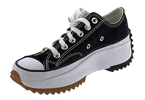 CONVERSE 168816C-37, Chaussure de Course Mixte, Schwarz Weiß, 37 EU