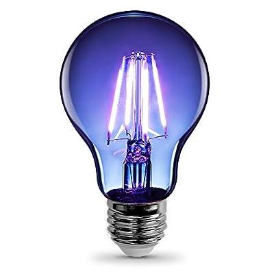 "FEIT Electric A19/TB/LED Bulb, A19 2.38"" D x 4.44"" H, Blue"
