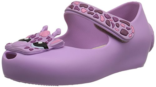 Mini Melissa Ultragirl IV BB Mary Jane Shoe (Toddler), Purple, 8 M US Toddler