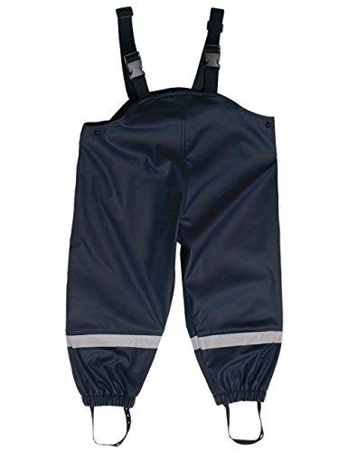 maximo Jungen Unisex Regenhose, Blau (Dunkelmarine 11), (Herstellergröße: 80)