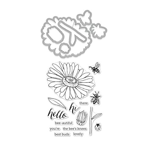 Hero Arts Daisy and Bugs Stamp & Cut Stamp & Die