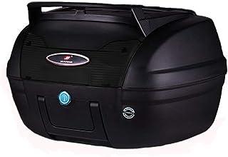 KEIKAI リアボックス バイク用トップケース 着脱可能式 40L大容量 高品質 丈夫 汎用 鍵付き フルフェイス収納可能