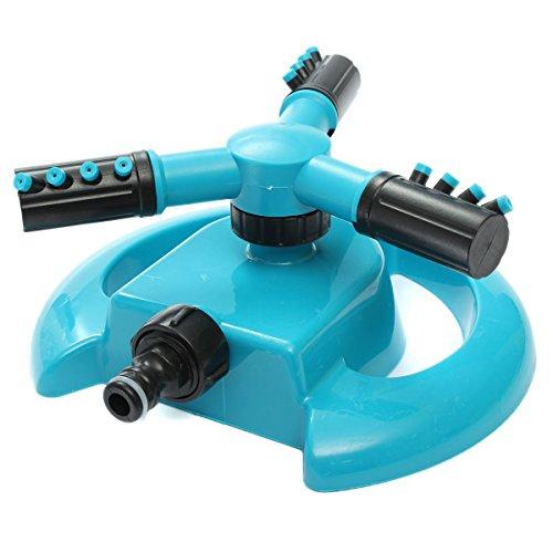 Buse de pulvérisation d'arrosage par arrosage rotatif automatique de 360°. Usage dans le jardin. 205 x 205 x 100 mm.