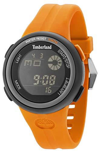 Wilmington Reloj para Hombre Digital de Cuarzo con Brazalete de Silicona 15007JPBU-02P