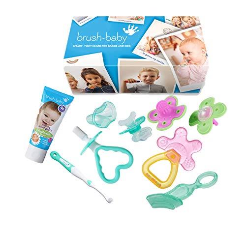 Brush-Baby Kit de survie pour dentition Rose