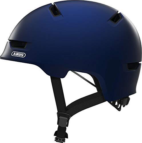 ABUS Unisex-Erwachsene SCRAPER 3.0 Fahrradhelm, ultra blue, M