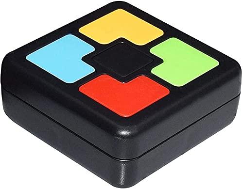 Milu deer Consola de Juegos de Memoria ABS para niños, iluminación LED y Efectos de Sonido, Juguetes interactivos, Juegos de Mejora de la Memoria, Entrenamiento de coordinación Mano-Cerebro