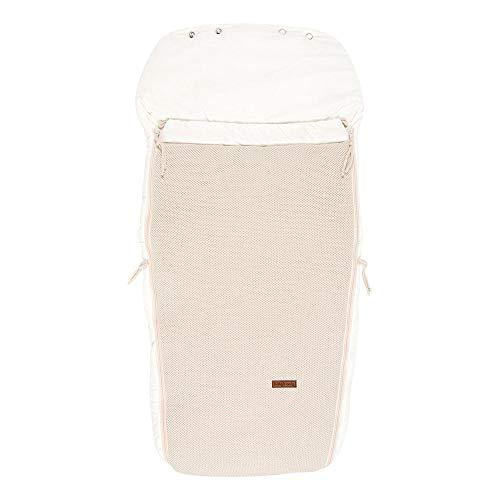 BO Baby's Only - Buggysack - Gefütterte Fußsack aus Baumwolle für einen Buggy - 98x52 cm - für Jungen und Mädchen - Sand